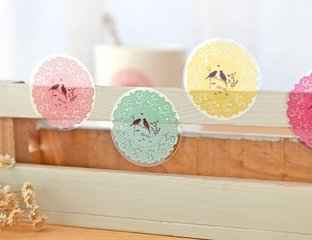 Round Stickers (Sealing Stamps)