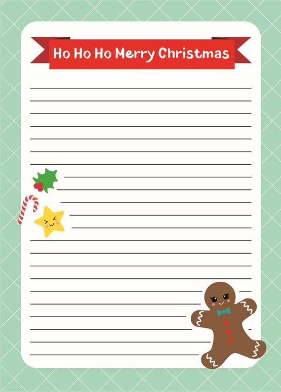 A5 LETTER PAPER PAD | GINGERBREAD