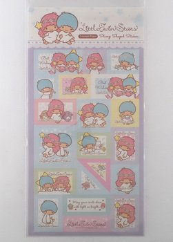 Sanrio Little Twin Stars - stamp shaped stickers