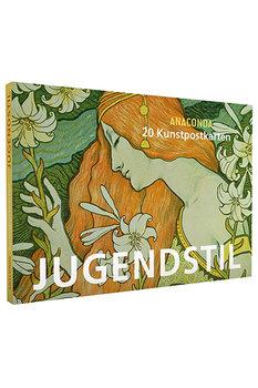 Anaconda Art Postcard Book | Jugendstil