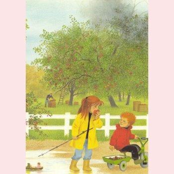 Postkarte Gerda Muller - Herbst