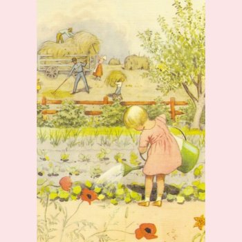 Elsa Beskow Postcard | Around the Year