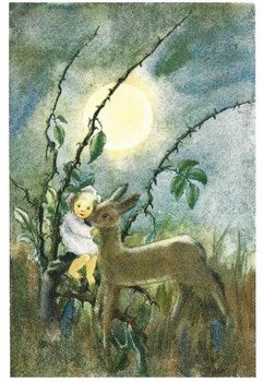 Postcard Mili Weber - Dear Little Deer