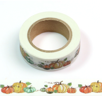 Washi Masking Tape | Halloween Pretty Pumpkins