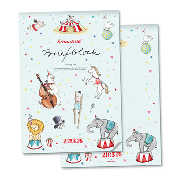 A4 Letter Paper Pad - Circus