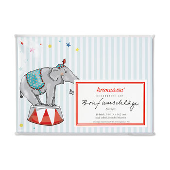 Envelope Set C6 - Circus