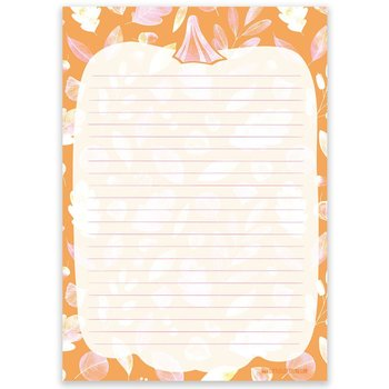 A5 Letter Paper Pad | Autumn Pumpkin