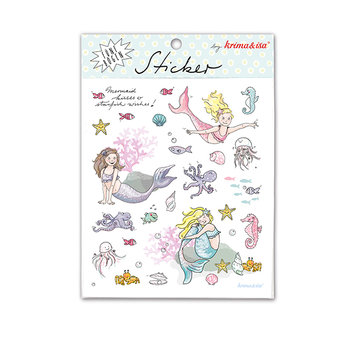 5 Sticker Sheets Krima & Isa | Mermaid