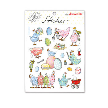 5 Sticker Sheets Krima & Isa | Pasen