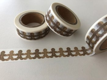 Washi Masking Tape | Gingerbread