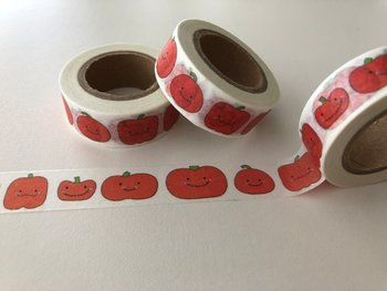Washi Masking Tape | Tomato