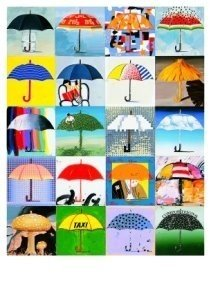 Postcard | Paul Giovanopoulos - Umbrella A