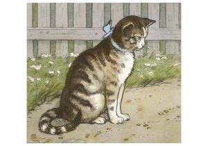 Postcard   Cornelis Jetses, Detail: Leesplankje