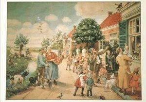 Postcard   Cornelis Jetses, De Vertelselplaat