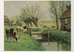 Postcard   M.A. Koekkoek - Herkauwers