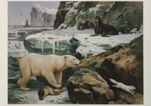 Postcard   M.A. Koekkoek - Temidden van snee