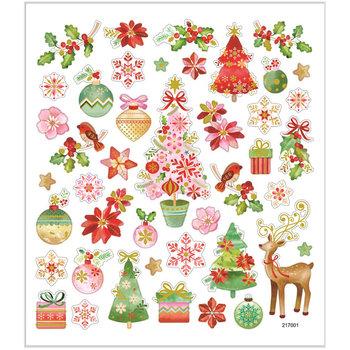 Seal Sticker met Goudfolie | Romantische Kerst