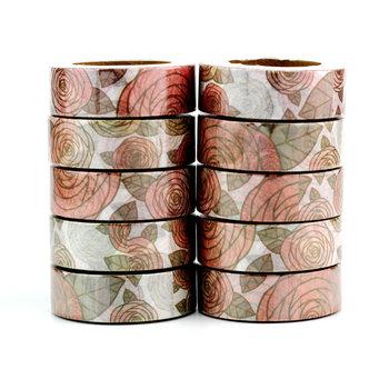Washi Masking Tape | Roses