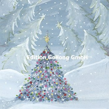 Sabina Comizzi Postcard Christmas | Fir tree in the snow