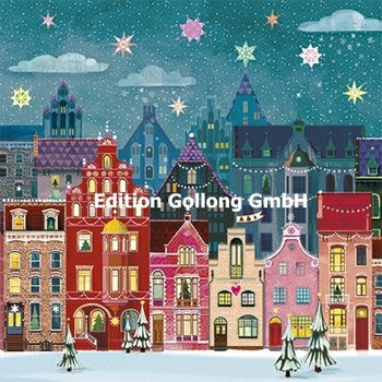 Mila Marquis Postcard Christmas | Kerst Stad