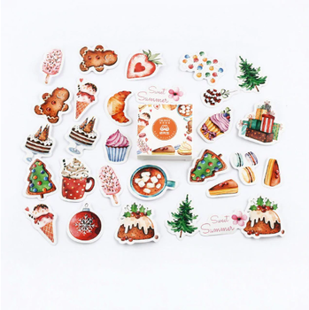 Sticker Flakes Box | Yummy Things