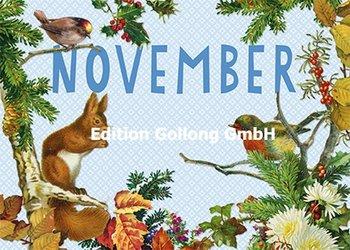 Carola Pabst Postcard | November (Vintage)