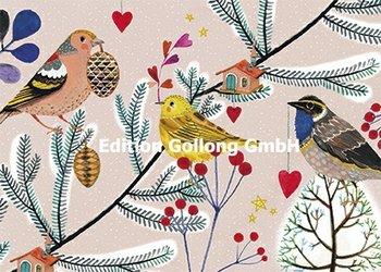 Mila Marquis Postkarte | Vögel