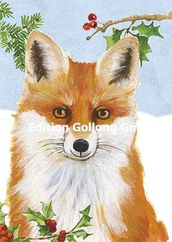 Carola Pabst Postcard | Fox