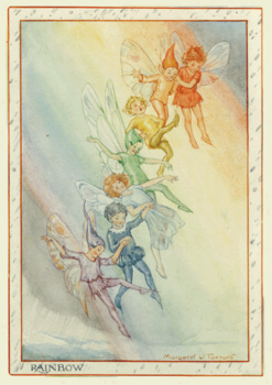 Postcard Margareth W. Tarrant | Rainbow Fairies