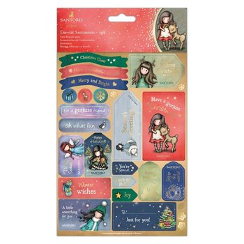 Gorjuss Die-Cut Sentiments - Santoro - Oh Deer