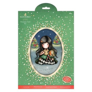 Gorjuss Christmas Card Kit - Santoro - My Christmas Friend