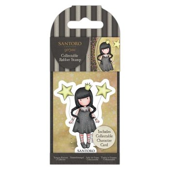 Gorjuss Collectable Rubber Stamp - Santoro - No.71 My Own Universe