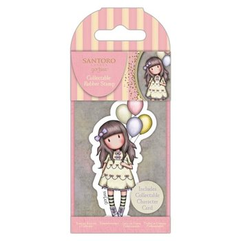 Gorjuss Collectable Rubber Stamp - Santoro - No.73 I Wish