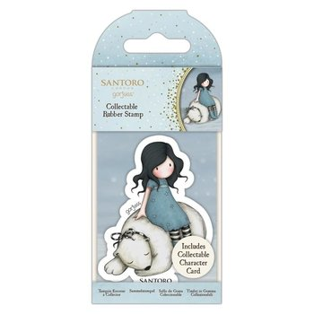 Gorjuss Collectable Rubber Stamp - Santoro - No.78 Winter Friend