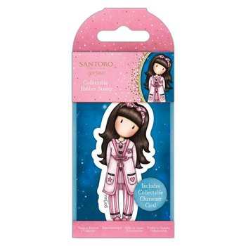 Gorjuss Collectable Rubber Stamp - Santoro - No.83 - Goodnight Gorjuss