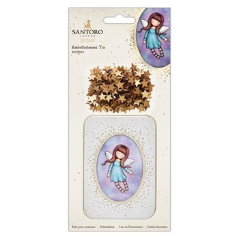 Gorjuss Embellishment Tin (200pcs) - Santoro - Bound For Heaven