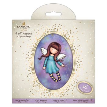 Gorjuss 6 x 6 Paper Pack (32pk) - Santoro - Bound For Heaven