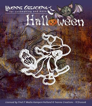 Die - Yvonne Creations - Halloween - Witch