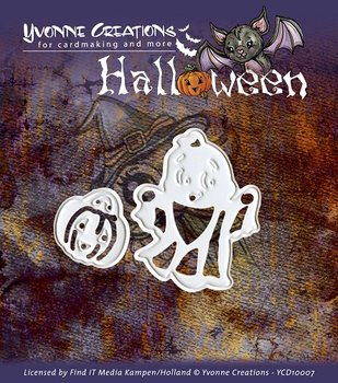 Die - Yvonne Creations - Halloween - Little ghost