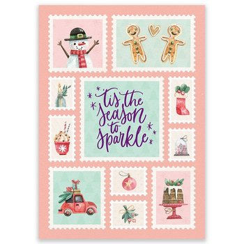 Postcard LittleLeftyLou | Christmas Season To Sparkle
