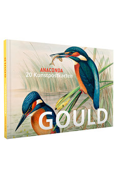 Anaconda Art Postcard Book | John Gould