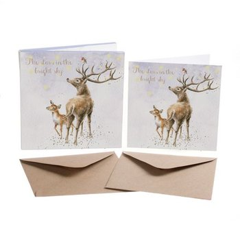 Wrendale Designs 'The Stars in the Bright Sky' Christmas Card Box Set