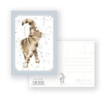 Wrendale Designs 'Just Purrfect' Postcard