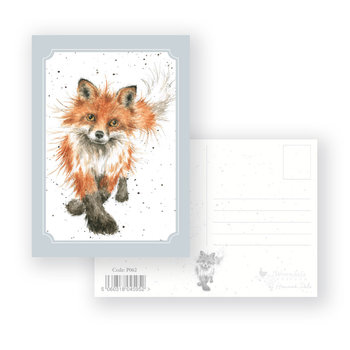 Wrendale Designs 'The Foxtrot' Postcard