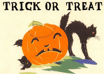Postcard | Halloween - Trick or Treat