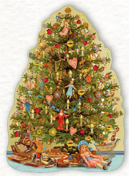 Shaped Postcard Edition Tausendschoen Specials | Christmas Tree WITH ENVELOPE
