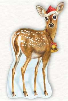 Shaped Postcard Edition Tausendschoen Specials | Deer WITH ENVELOPE