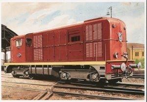 Postcard | Charles Burki - Locomotief 2400