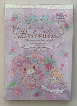 Sanrio Bonbonribbon Large Memo Pad