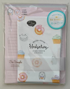 Crux Volume Letter Set So Simple | Mogu Mogu Hedgehog